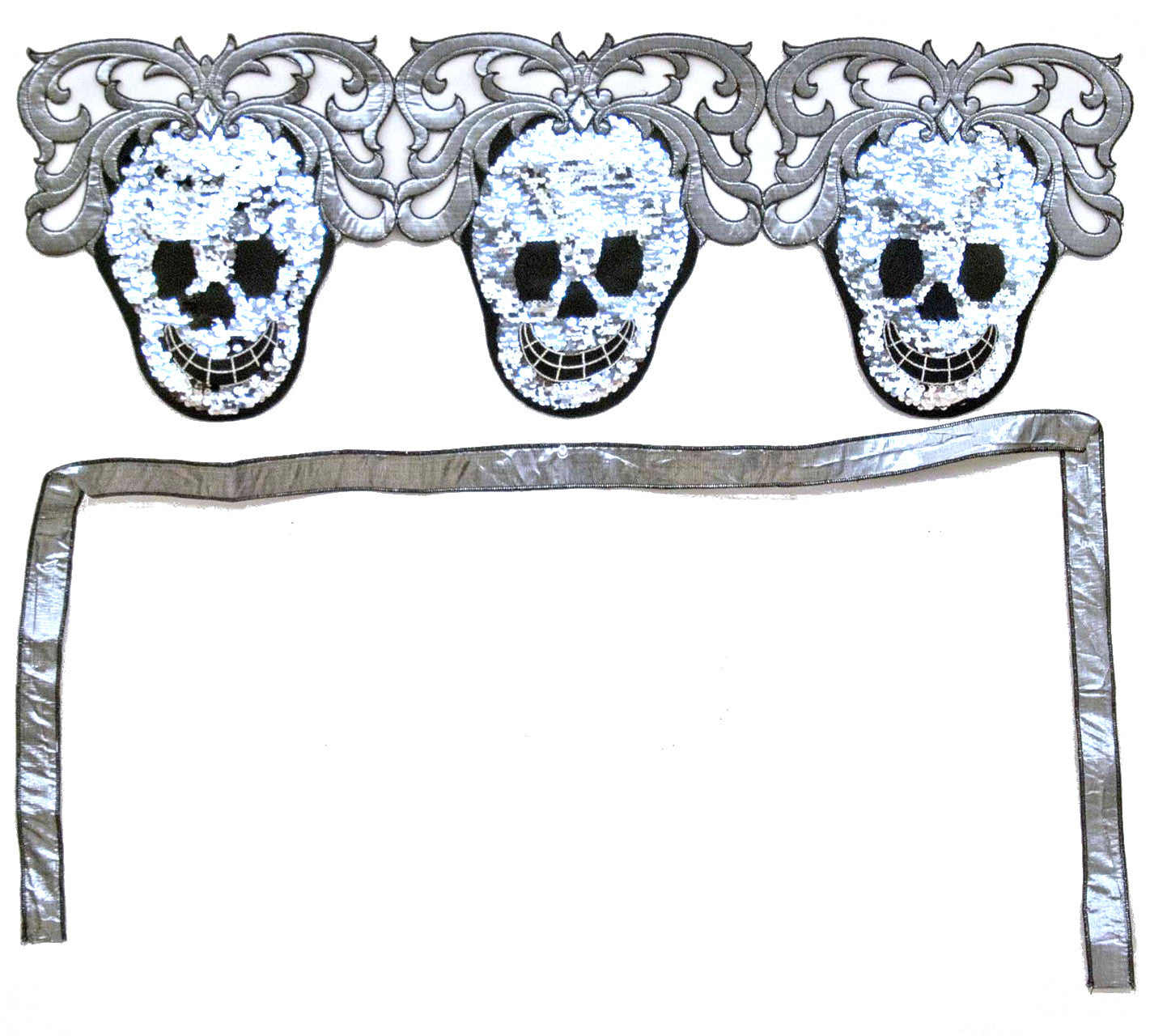 Sequin Skull Bunting Garland by Katherine's Collection