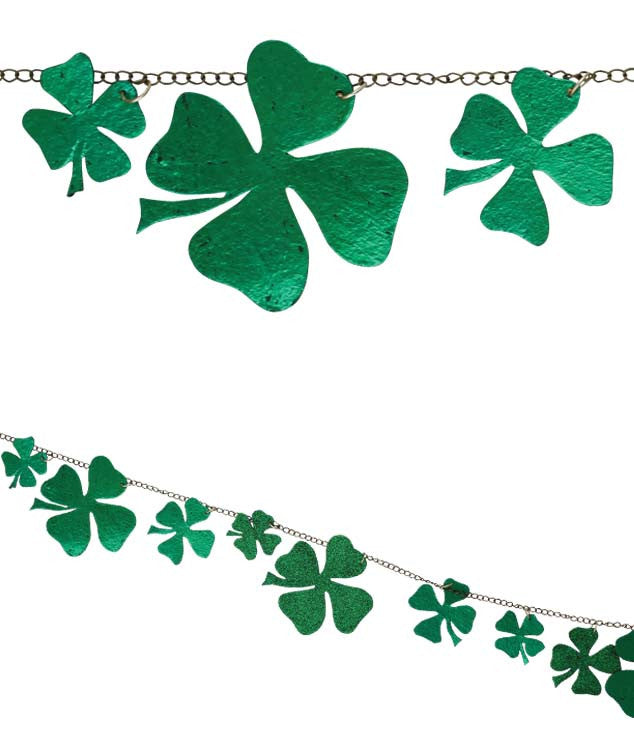 Chained Shamrock Garland