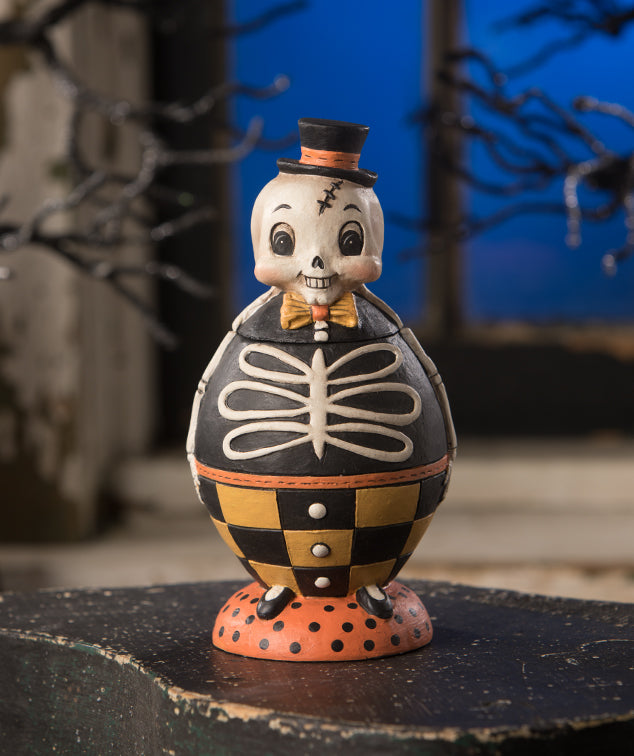 Silly Bones Spooks Jar by Johanna Parker