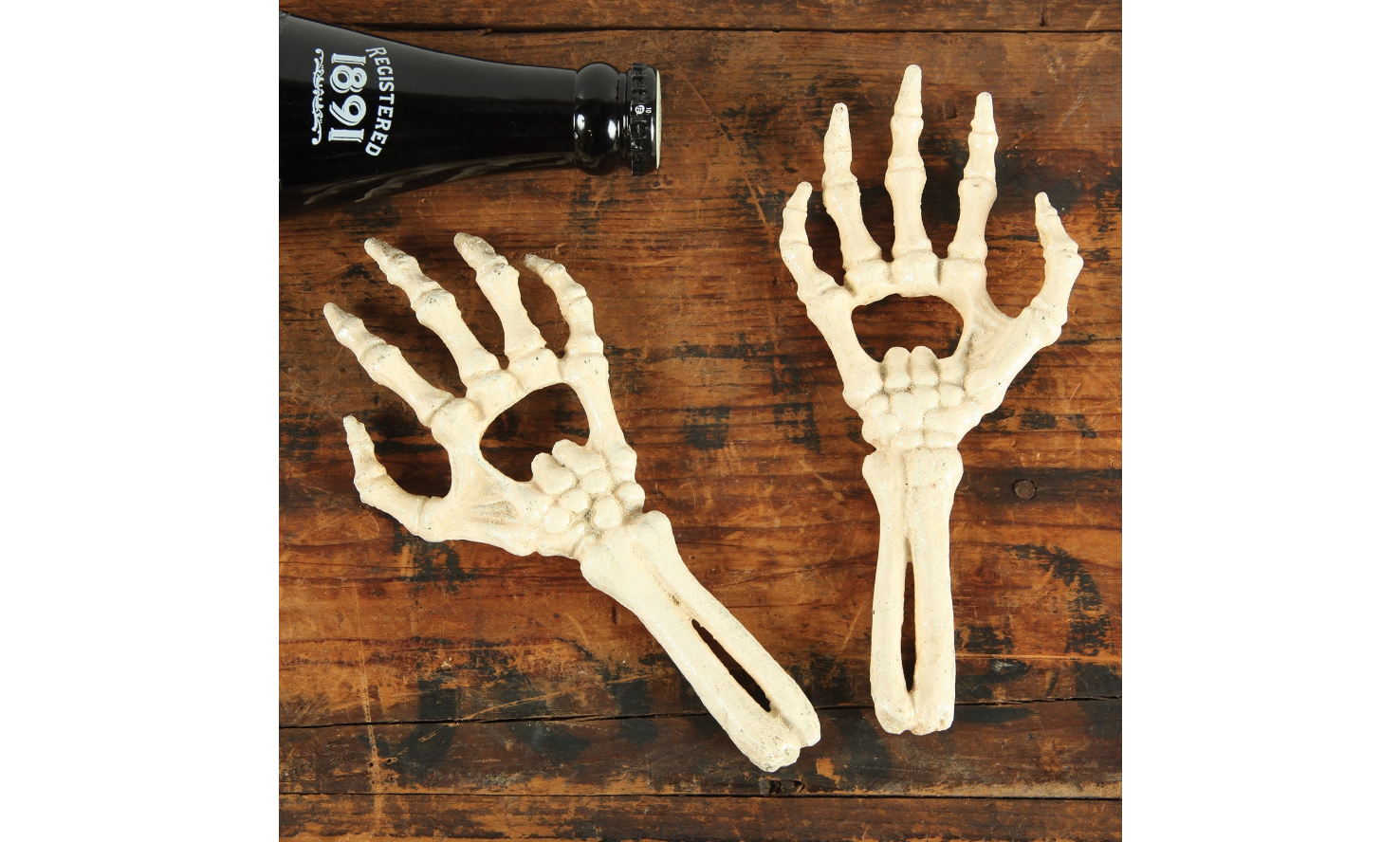 Skeleton Hands Bottle Openers - Halloween Bar Accessories