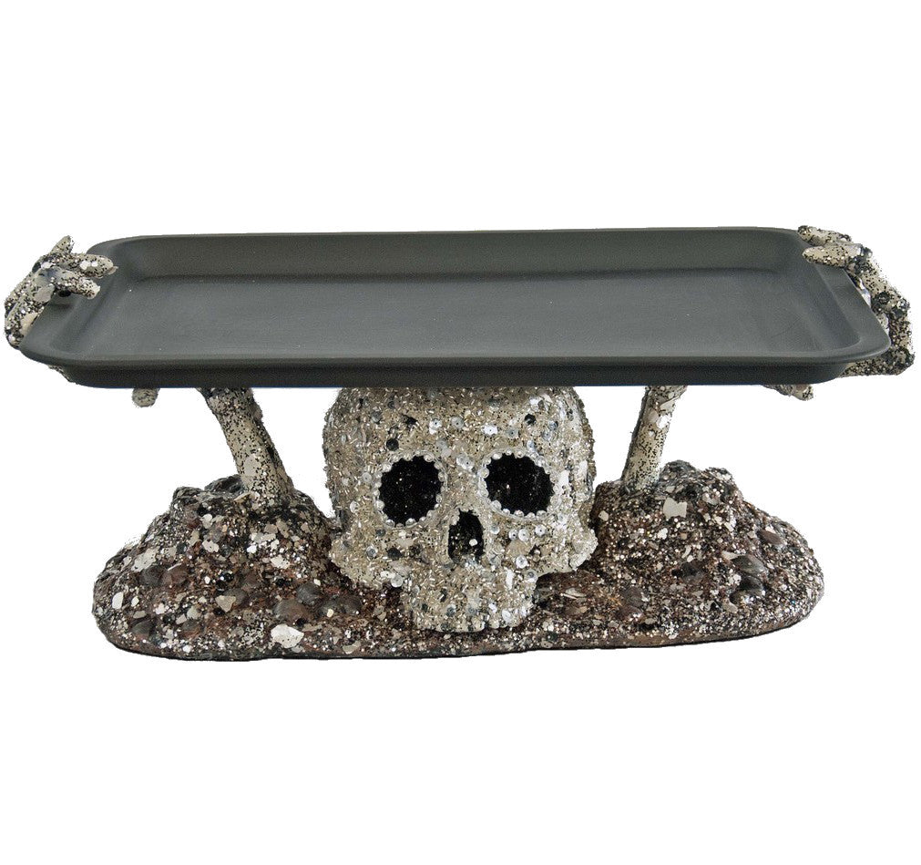 Glam Skeleton Hands Tray by Katherine's Collection
