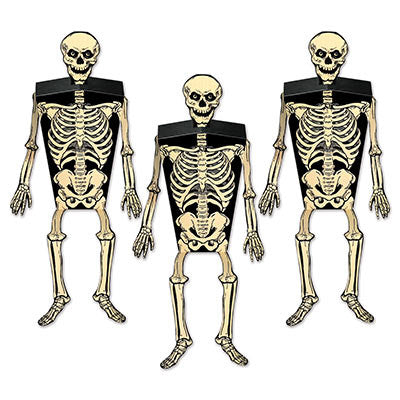 Skeleton Party Favor Boxes | Vintage Halloween