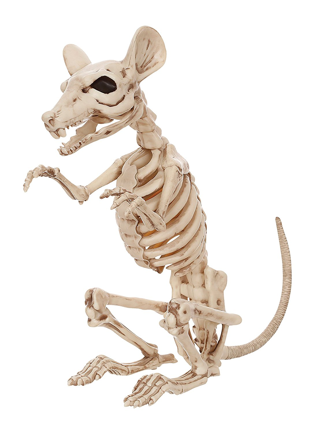 Sitting Skeleton Rat Halloween Decoration