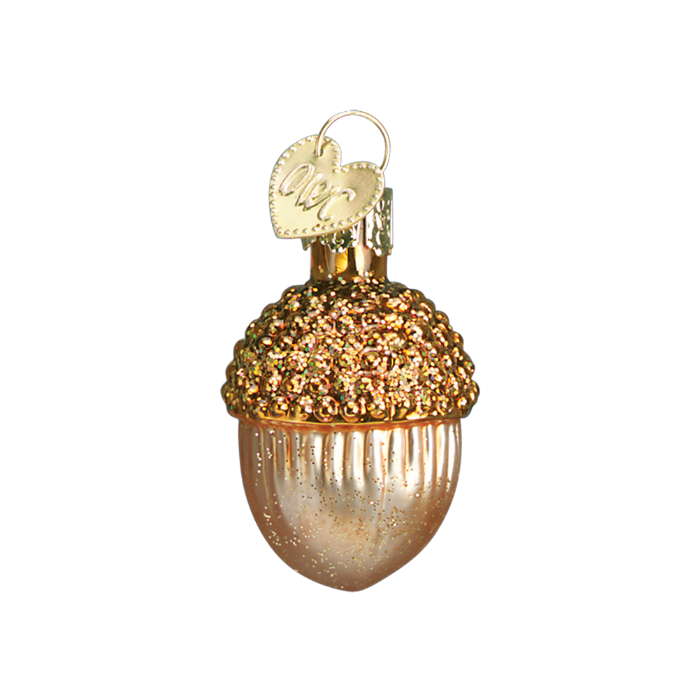 Small Acorn Ornament Light