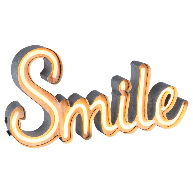 Smile Neon Sign - LED
