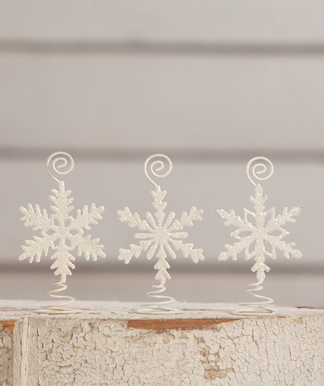 Snowflake Card Holders