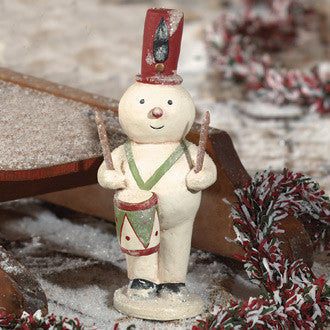 Snowman with Drum