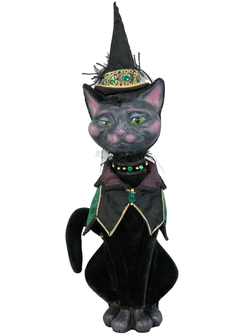 Katherine's Collection Spellbound Cat Witch