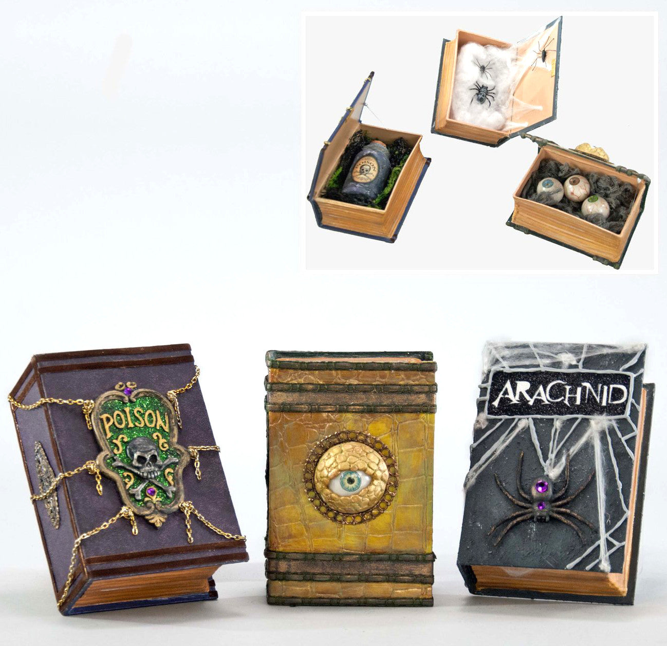 Witch Book Boxes with Surprise by Katherine's Collection