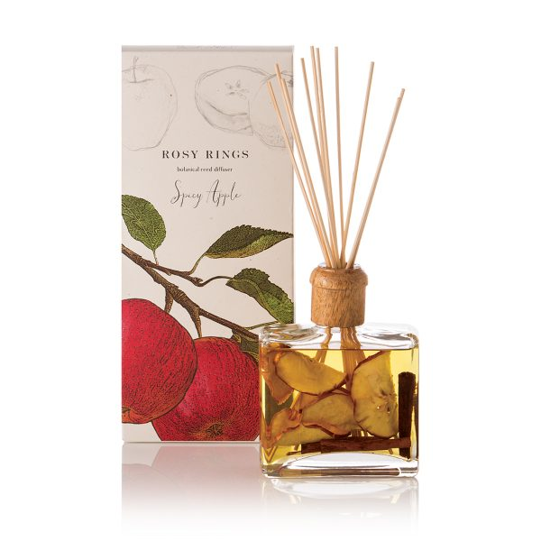 Spicy Apple Reed Diffuser with Cinnamon Clove & Nutmeg