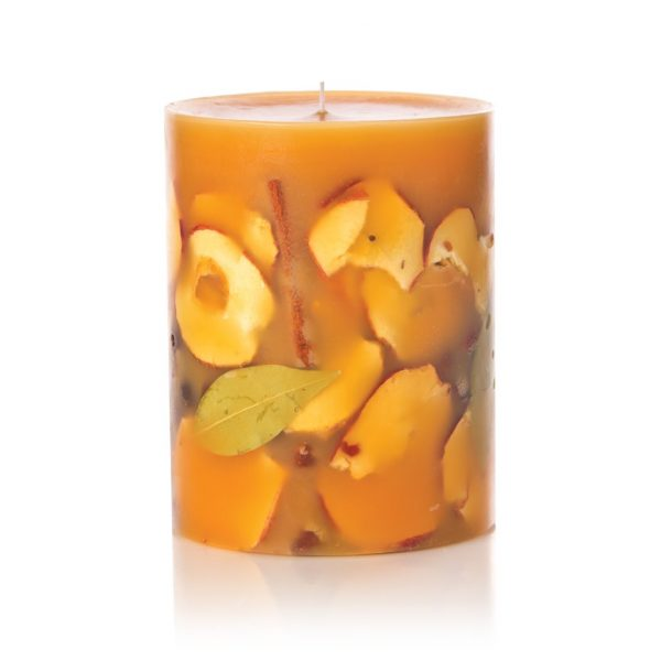 Spicy Apple Botanical Candle with Cinnamon Clove Nutmeg