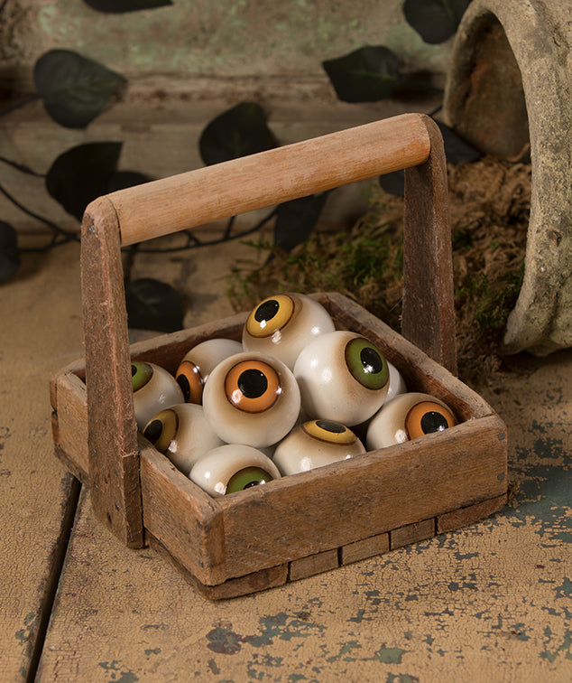 Spooky Eyeball Orbs by Bethany Lowe Halloween 2019