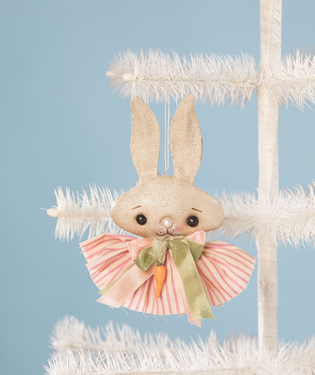 Spring Fling Bunny Ornament by Robin Seeber