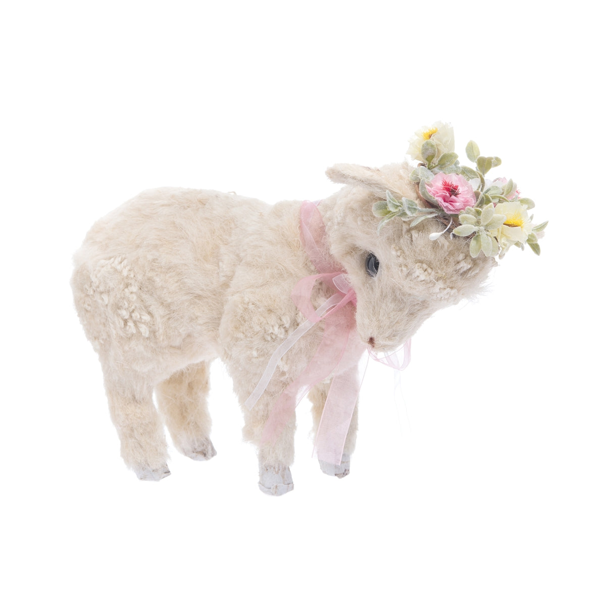 Spring Lamb with Flowers