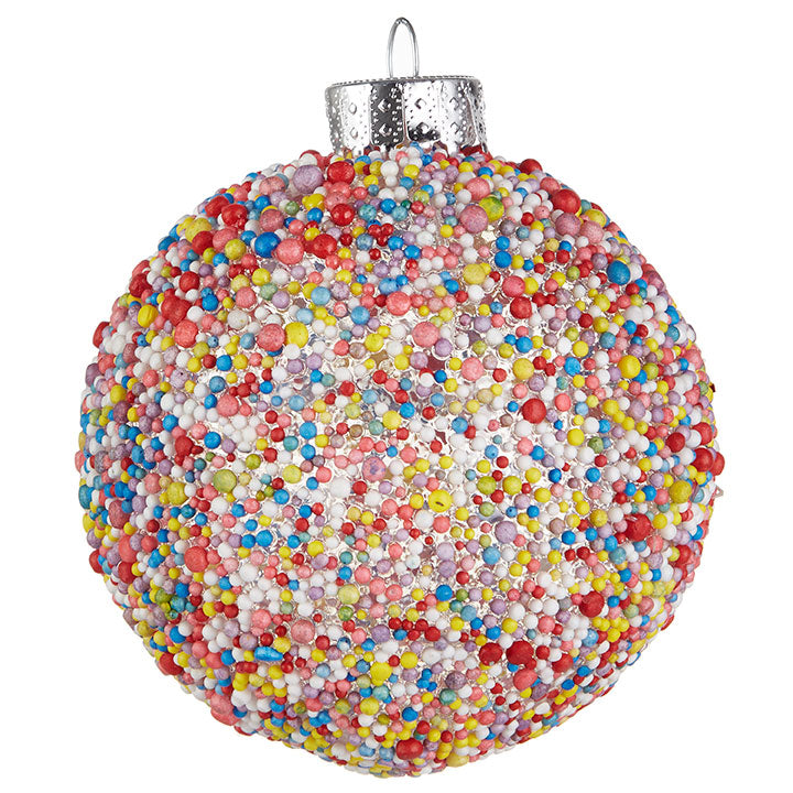 Sprinkle Ball Ornament, Set of 6