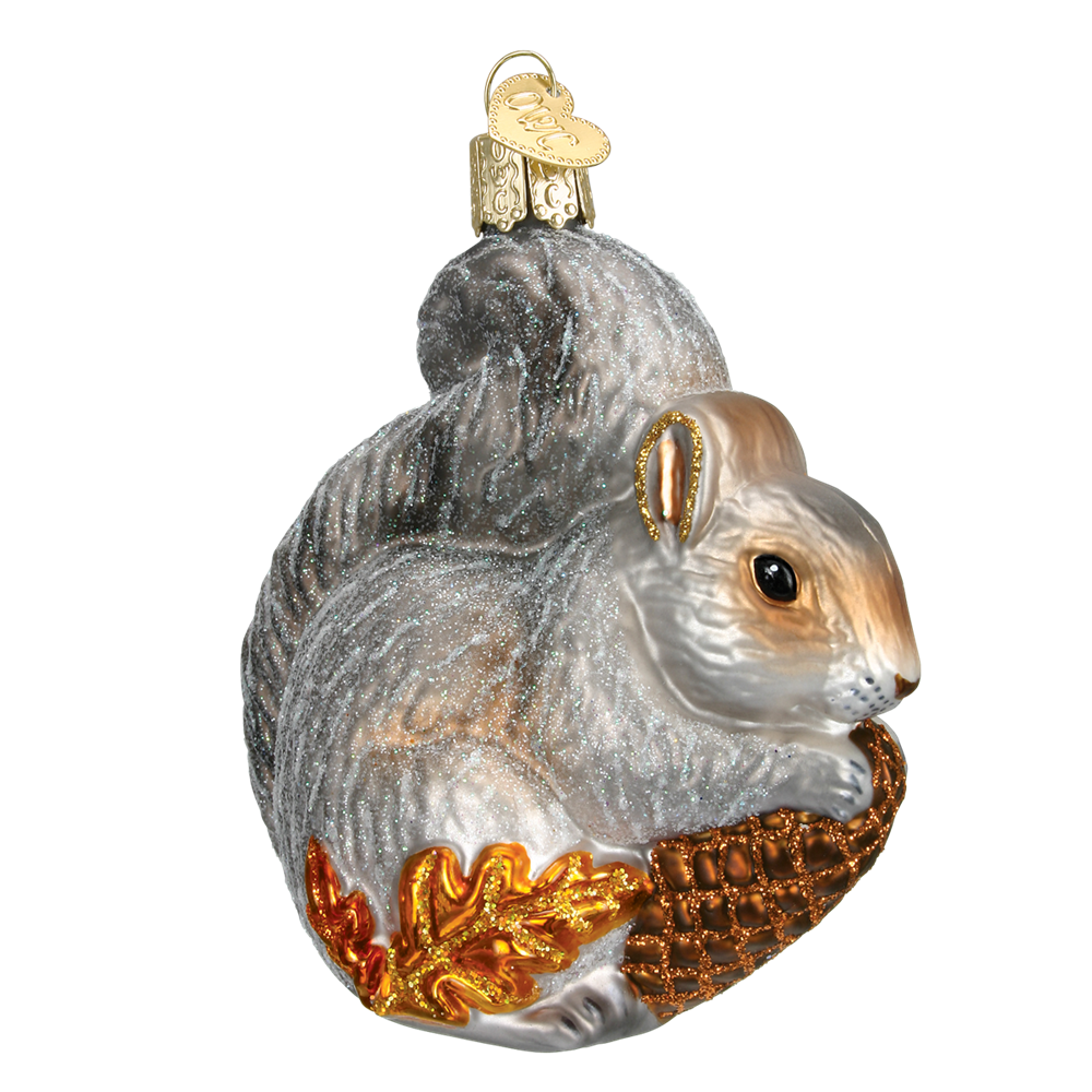 Hungry Squirrel Ornament by Old World Christmas