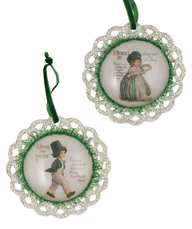 St. Patrick's Day Greetings Ornaments by Bethany Lowe
