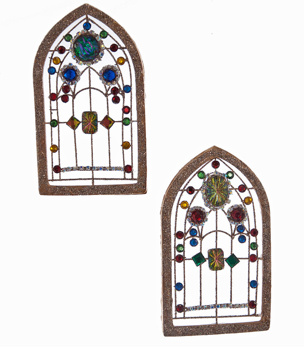 Stained Glass Church Window Ornaments