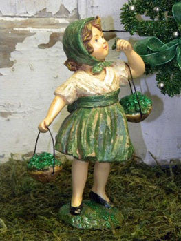 St. Pat's Girl with Baskets