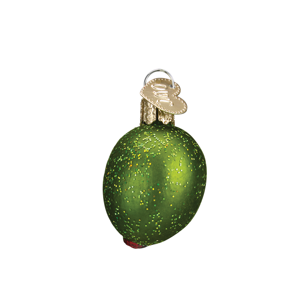 Pimento Stuffed Green Olive Ornament