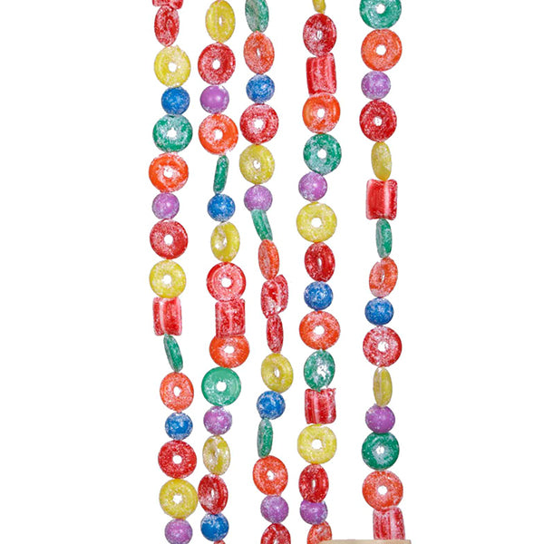Sugared Hard Candy Garland - Colorful