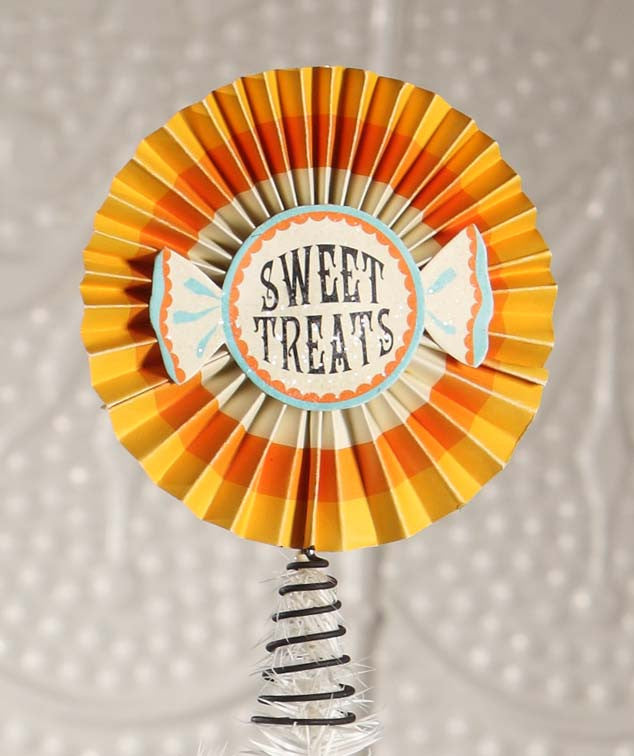 Sweet Treats Tree Topper - Bethany Lowe Halloween