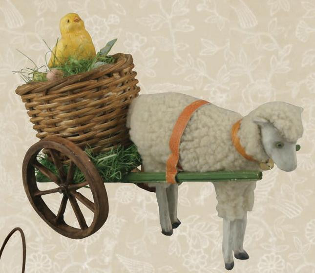 Spring Cart with Chick