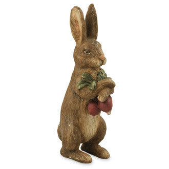 Bunny with Radishes