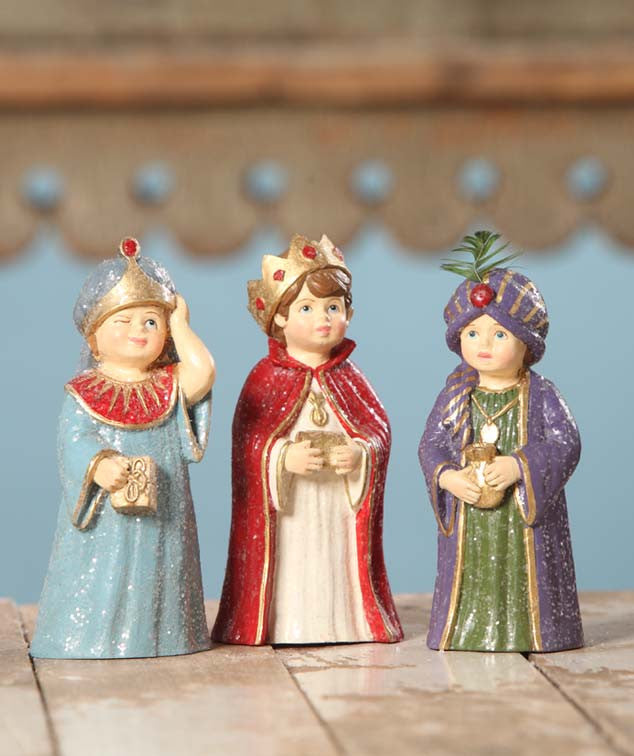 Three Wise Men - Nativity Play Children