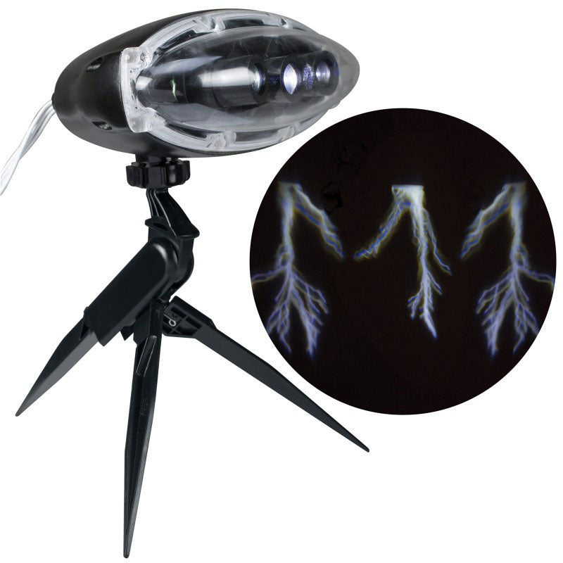 Thunderstorm Lightening Bolt Projector with Sound Effects