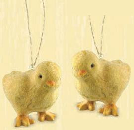 Cheep Chick Ornaments