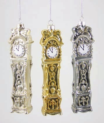 Grandfather Clock Ornaments