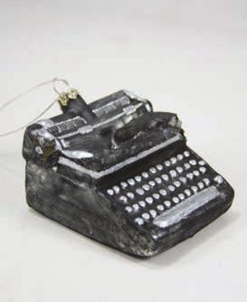 Vintage Royal Typewriter Ornament