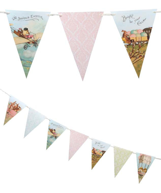 Traveling Easter Pennant Garland by Bethany Lowe