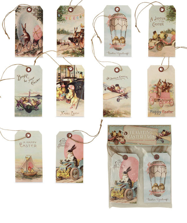 Traveling Easter Tags by Bethany Lowe