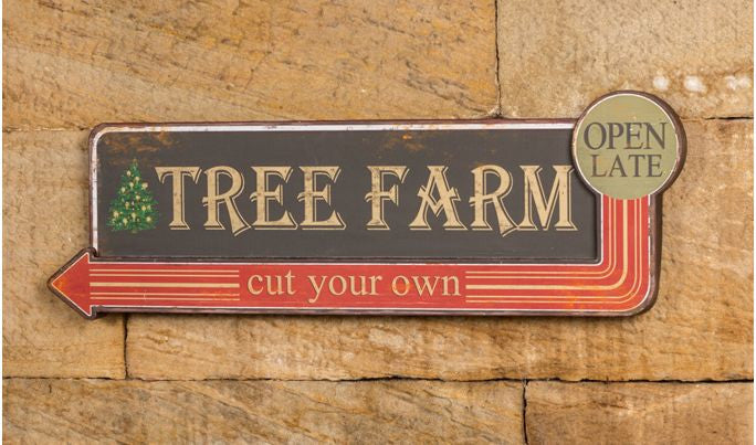 Tree Farm - Cut Your Own Christmas Tree Sign