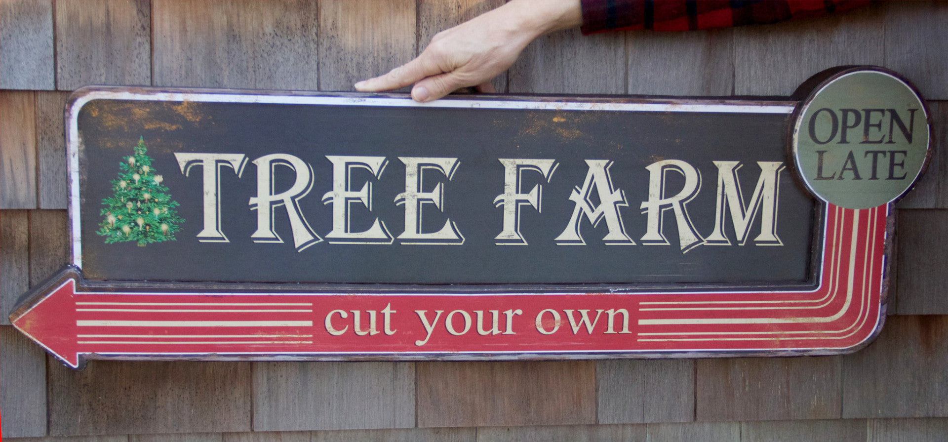 Cut Your Own Christmas Tree Farm Sign