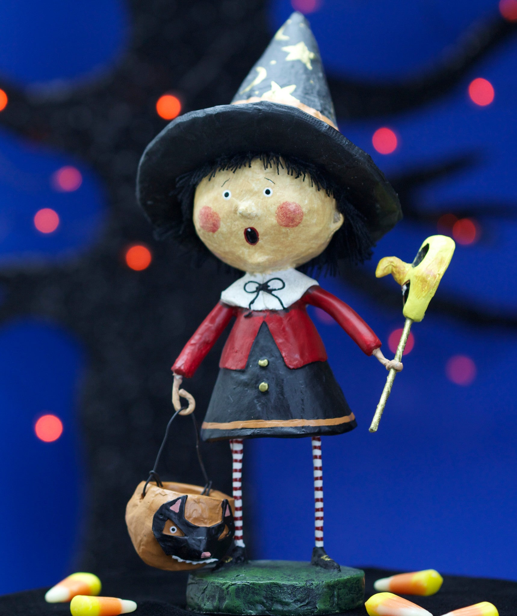 Trixie Witch - Lori Mitchell Halloween Figurine