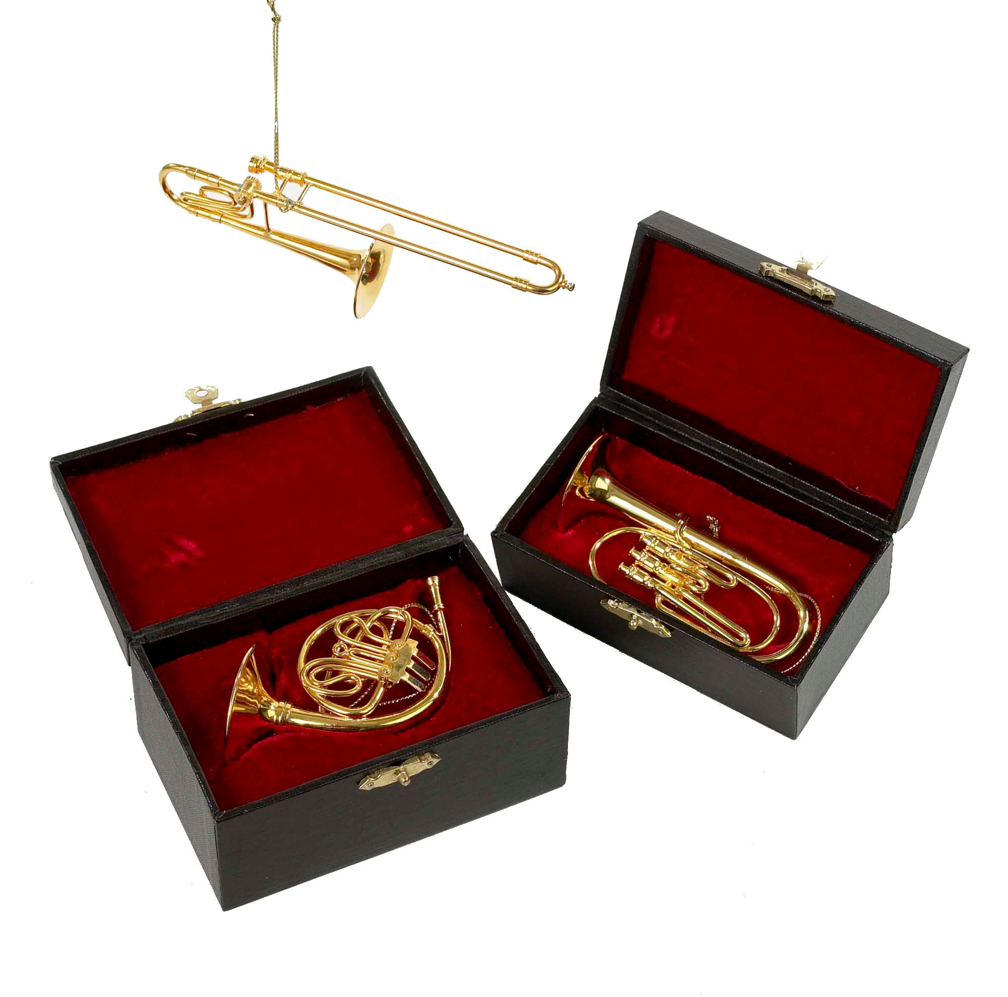 Trombone, French Horn & Trumpet Ornaments
