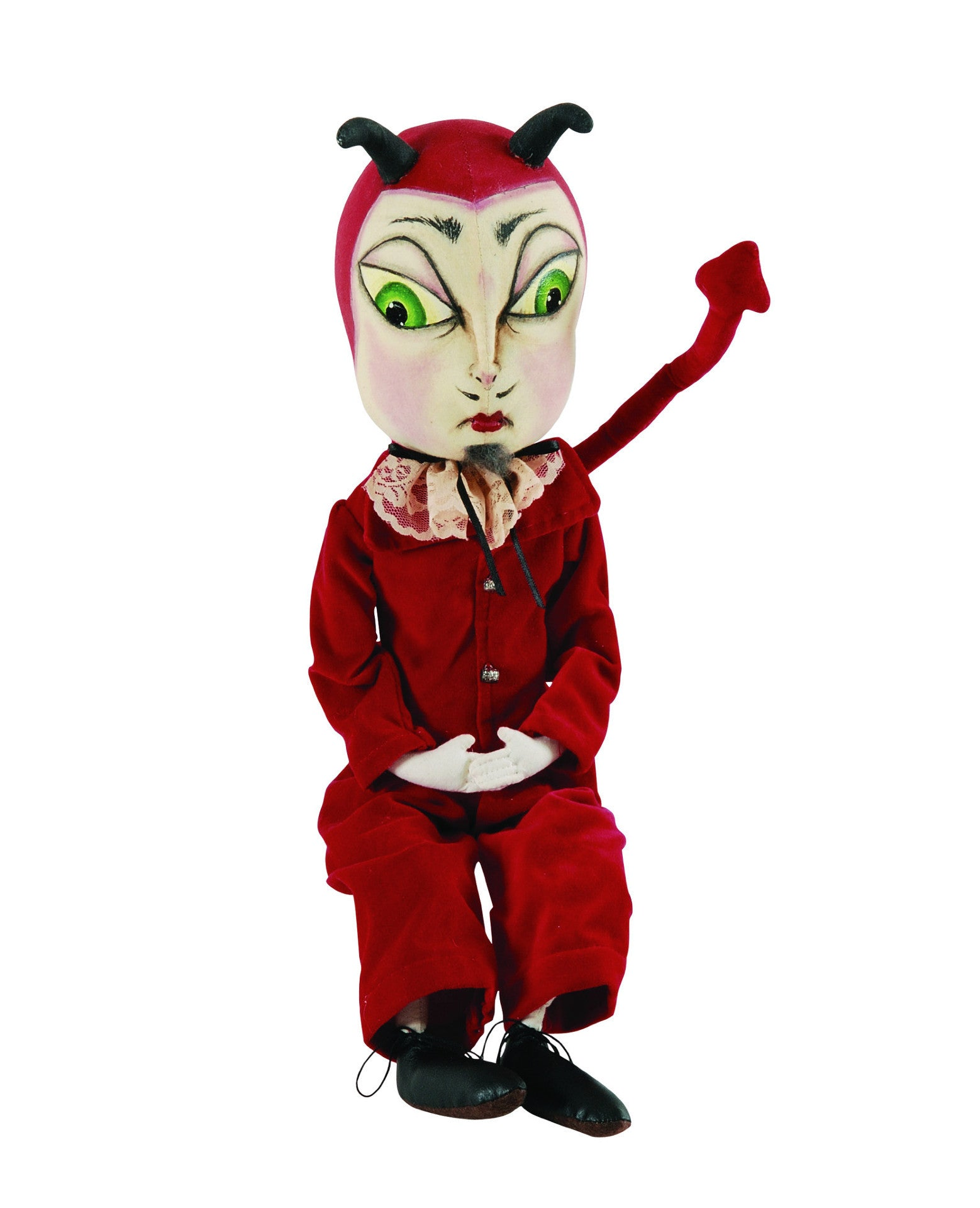 Vance Devil Cloth Halloween Doll by Joe Spencer