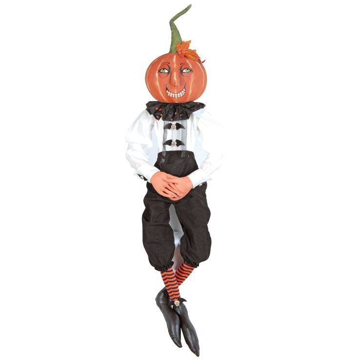 Victor Pumpkin Man - Joe Spencer Halloween Doll