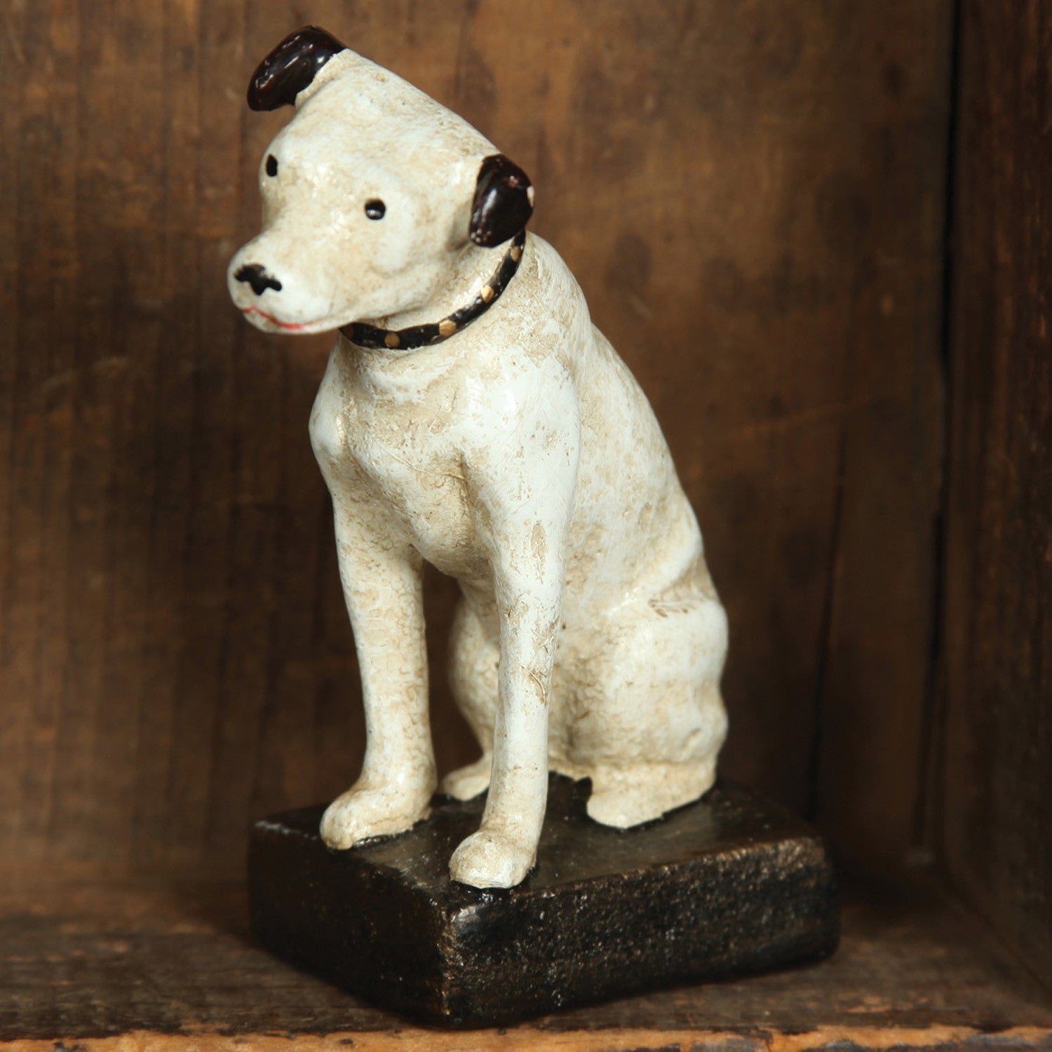Victor Cast Iron Dog - Nipper Jack Rusell Terrier
