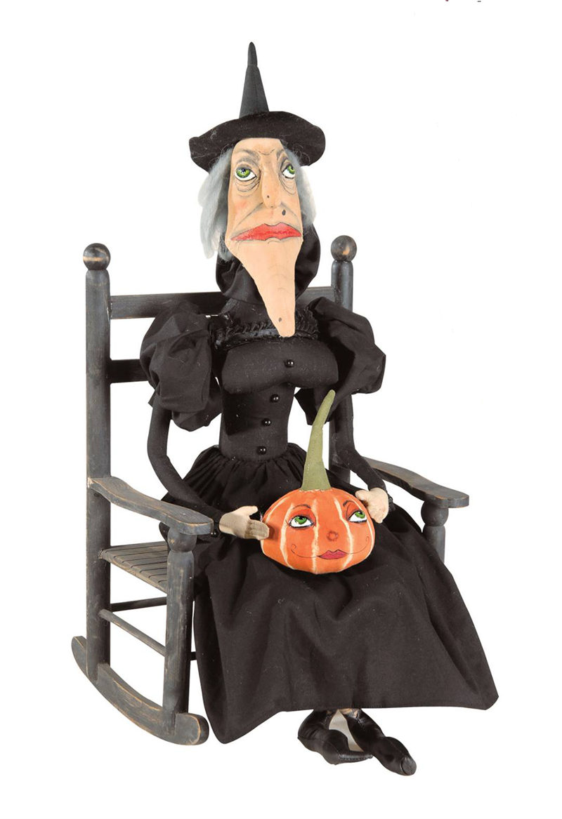 Victoria Witch Joe Spencer Halloween Doll