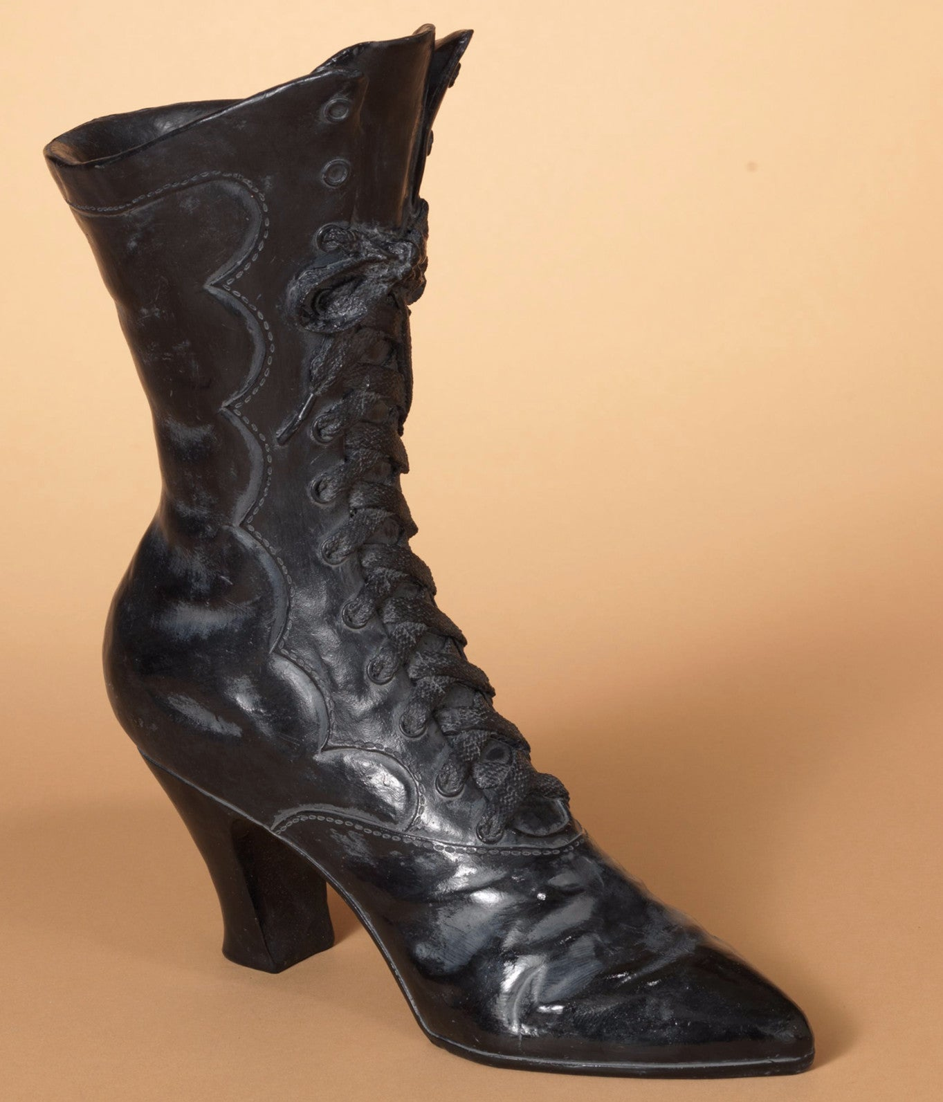 Old Victorian Witch Boot Decoration