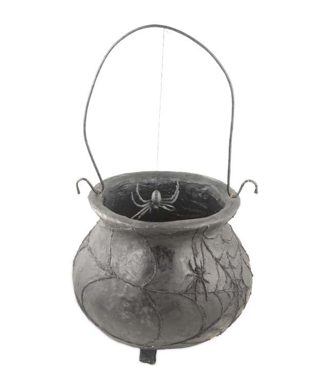 Vintage Halloween Cauldron - Old Looking Cauldron