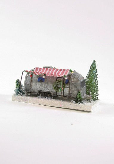 Vintage Christmas Travel Trailer