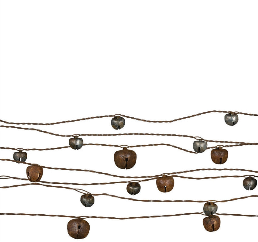 Weathered Jingle Bell Garland