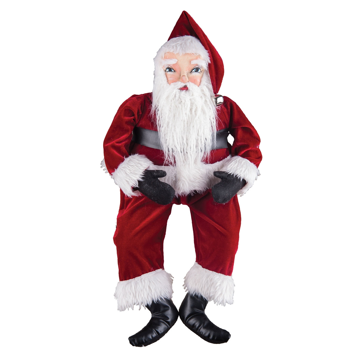 Whittaker Santa Doll - Joe Spencer Christmas