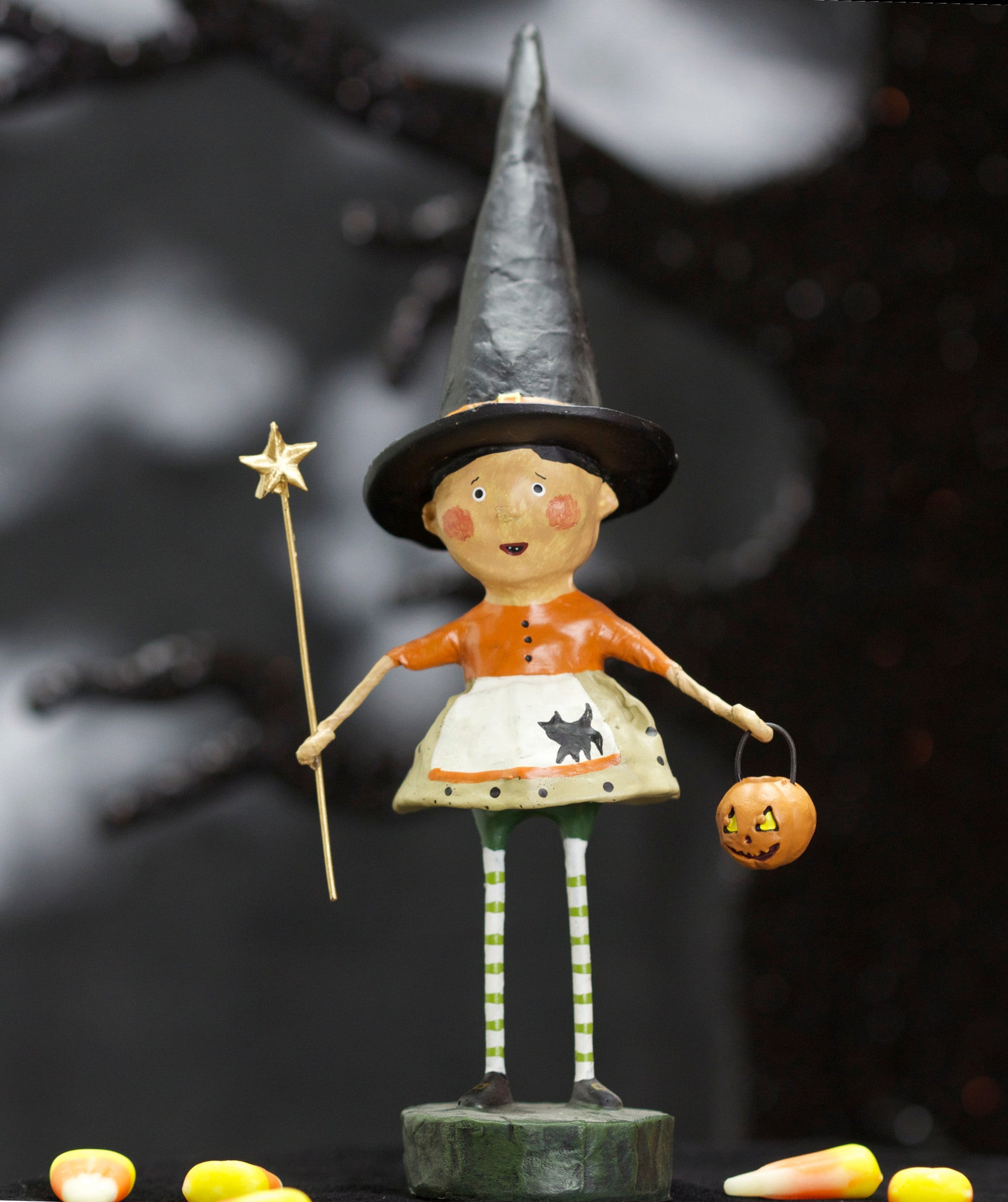Wicked Willow Witch Lori Mitchell Halloween Figurine