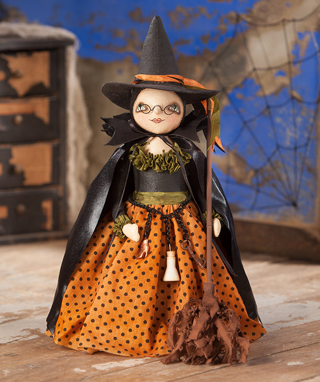 Willow the Witch Doll by Robin Seeber